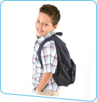 boy with backpack small
